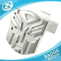 3D Transformers Autobot Car Front Grille Emblem Metal Badge New