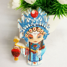 Peking Opera Resin 3d Print Machine Fridge Magnet