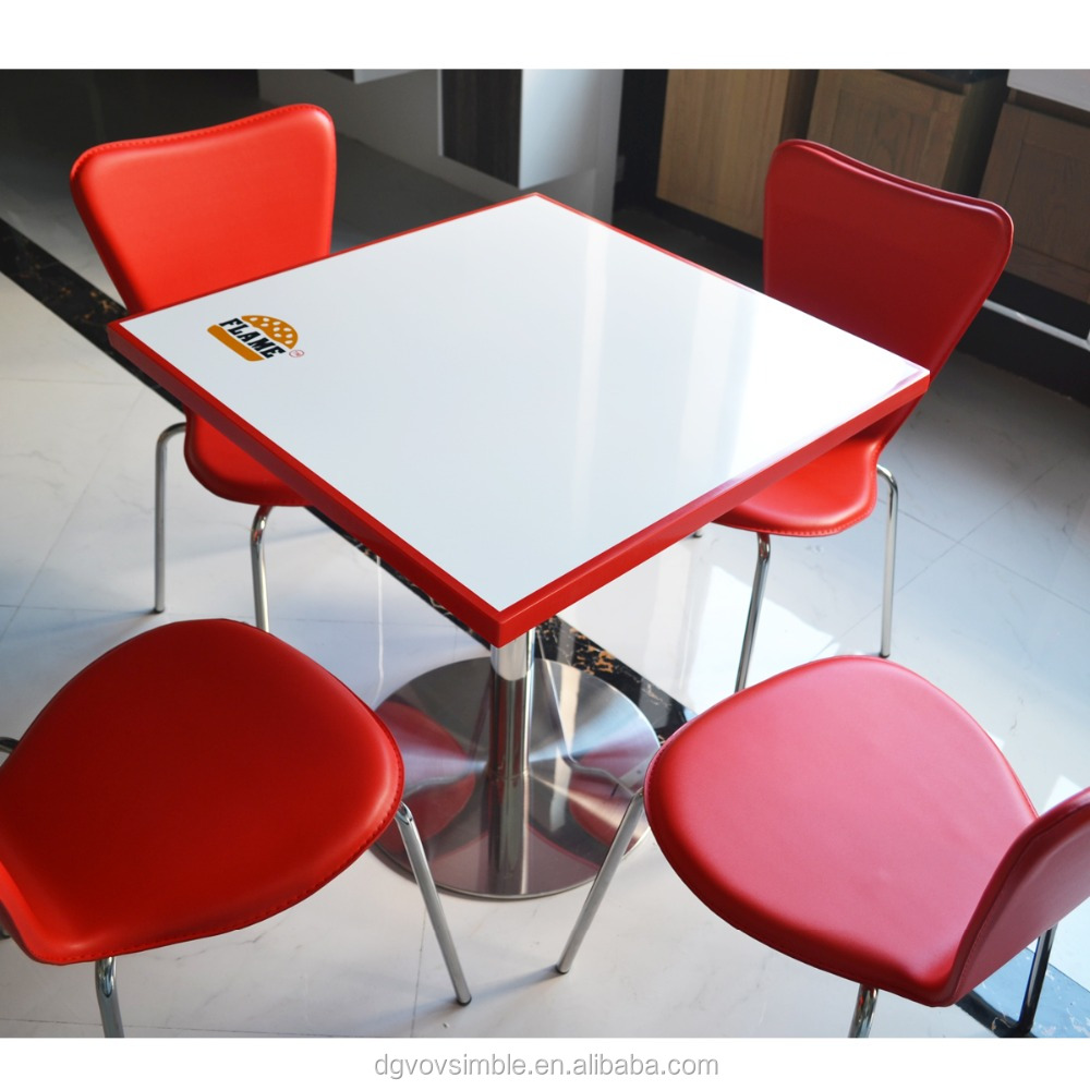 factory low price acrylic resin solid surface dining table with cast iron table base,artificial stone dinning table and chairs