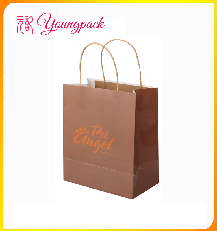2016 High Quality Kraft Window Paper Bag