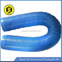 Zhejiang manufactory pvc collapsible plastic pipe