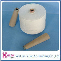 China Product 100 Spun Plyester Yarn Price List Free Sample