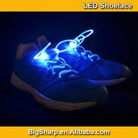 50pairs Wholesale LED Light Shoelace Neon Charming 7 Color Flashing LED Shoelaces Lighting in Party Accessories SL004