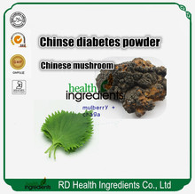bulk herbs for diabetes mulberry extract + chaga extract mixed powder