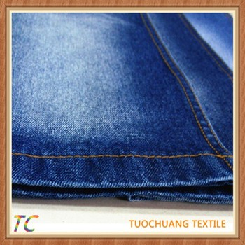 high quality brushed cotton denim fabric