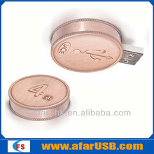 best promotion gift 4g memory card Coin USB flash cheap flash drive usb