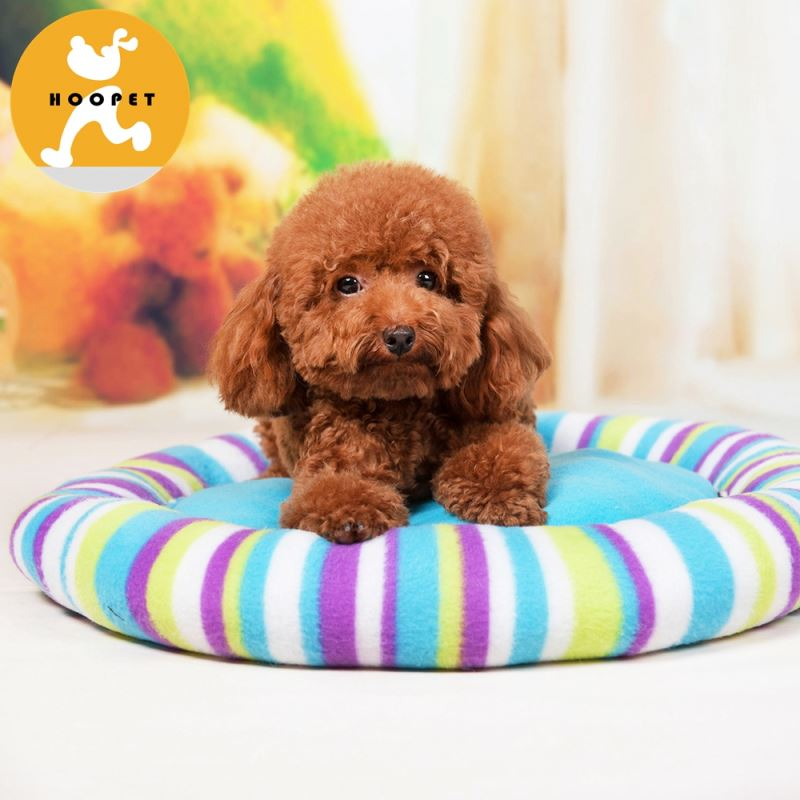 Colorful pet cat mat and plush dog bed animal stuffing
