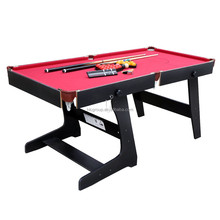 HLC 5.8 ft Snooker Billiards Table with Snooker and Pool Ball Sets