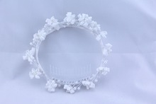 bridal flower garland/bridal flower wreath/wedding wreath
