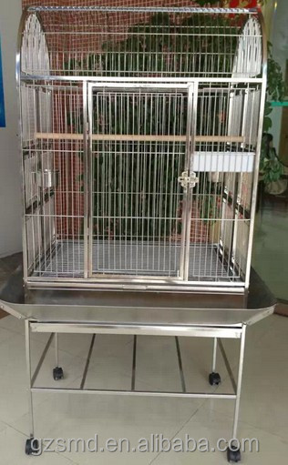 Factory Price Large Stainless Steel Parrot Cage
