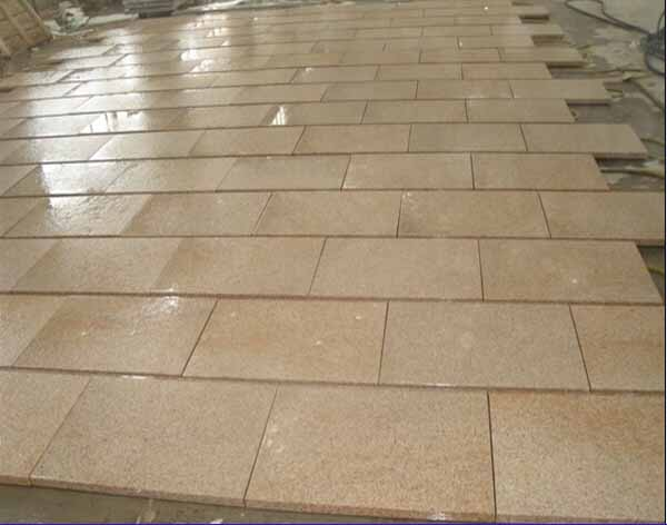Cheap G682 granite building materials stone steps stair steps for outdoor