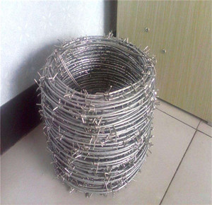 Wholesale anti-theft barbed wire mesh / barbed wire roll price fence