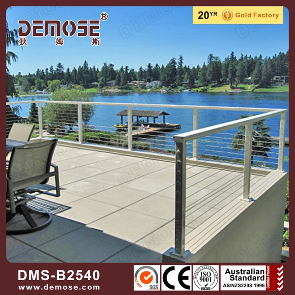 The balcony guard net steel baluster photo