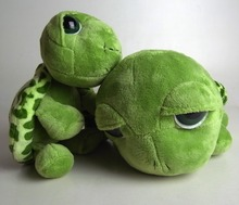 25cm Soft Stuffed Animal Tortoise Plush Doll Toy Turtle Pillow Cushion Gift