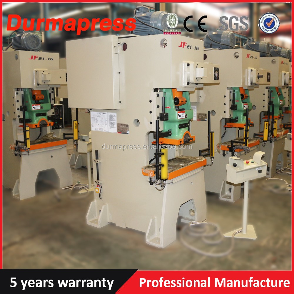 JH21-80 eccentric mechaincal power press with pneumatic clutch