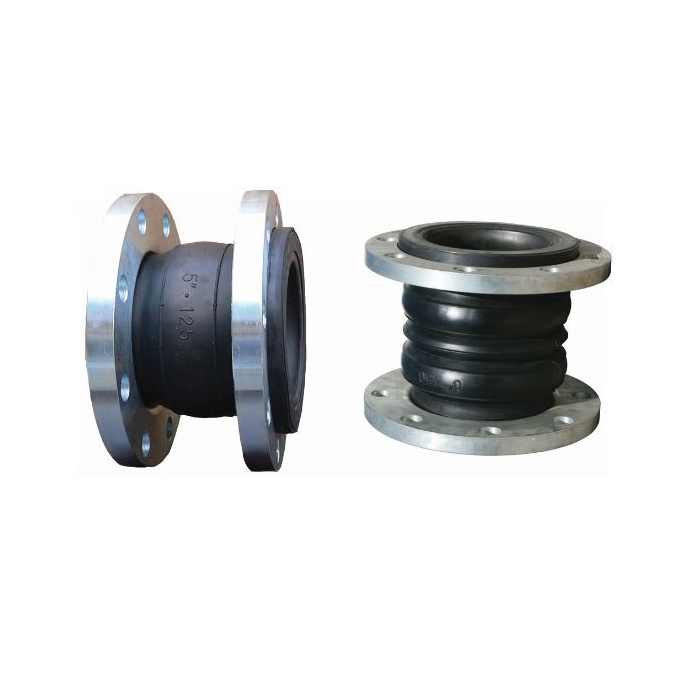 EPDM Flexible rubber pipe coupling with flange