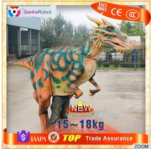 Interesting Products!!Walking Realistic Dinosaur foam rubber costume