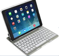 New offer 6 color with back light wholesale own factory Bluetooth Keyboard