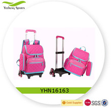 Wheeled School Bag Children Trolley bag for primary school backpack girls