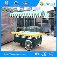 China Mobile Food Truck / Ice Cream Cart / Hot Dog Mobile Food Cart For Sale