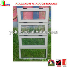 high quality australia standard chain winder double glazing aluminum windows awning window as2047 aluminum windows and doors