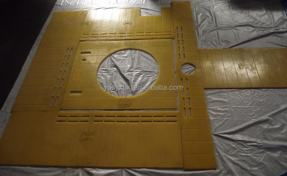 anti-slip rotary table mat