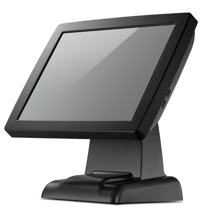 15 inch all in one point of sale system ip54 pos dual touch