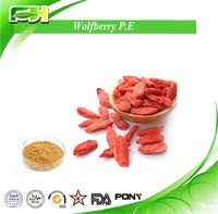High Quality Dried Chinese Wolfberry P.E ,10%~60% Polysaccharides,gouqi berry Extract