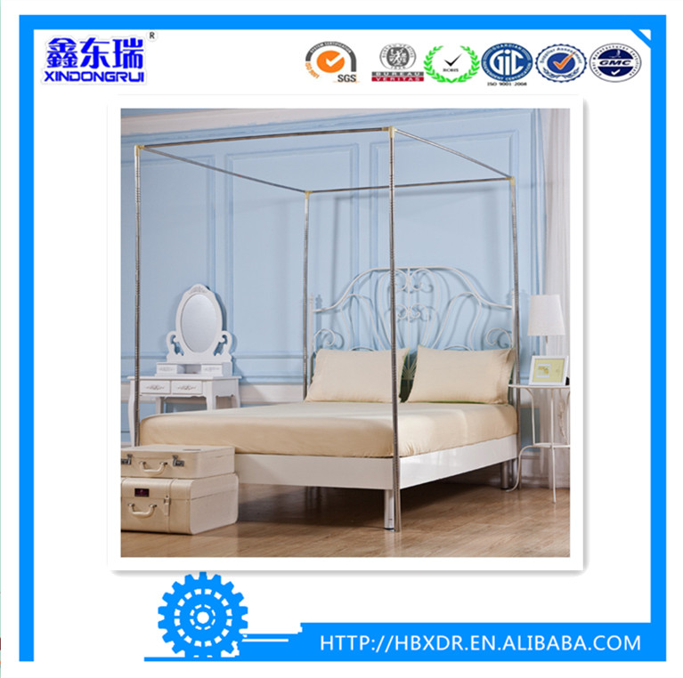 China xindongrui aluminum factory high quality aluminum extrusion profile for mosquito net stand/bracket