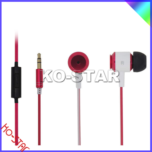 New Stylish Cheap Music Earphone of High Quality with Super Bass, for MP3/iPad/Computer/PC/Mobile Phone