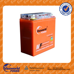 Factory wholesale high quality standard 12v 5ah Best price GEL MF battery for all Motorcycle