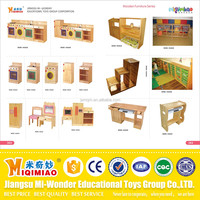 2016 safety wood furniture game big toys for kids