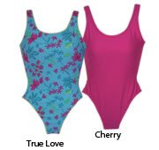Ladies One piece Swimwear with piping