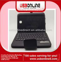 Removable Bluetooth Keyboard +Case Cover For Samsung Galaxy Note 8.0 N5100 Black/Red/Brown