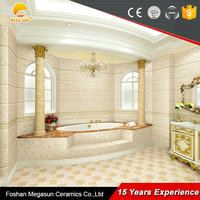 Most popular 5D bathroom tiles/Low Price 3d bathroom wall tile stickers