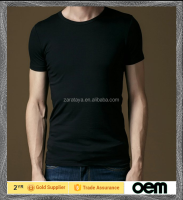 Blank brief style solid color can customize any colors with high quality 100 cotton material fitness mens round neck t-shirt