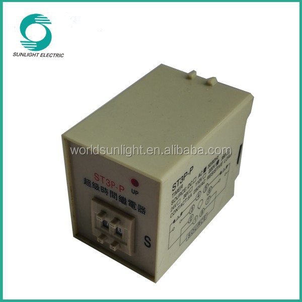 ST3P-P 220v programmable timer electric time delay relay