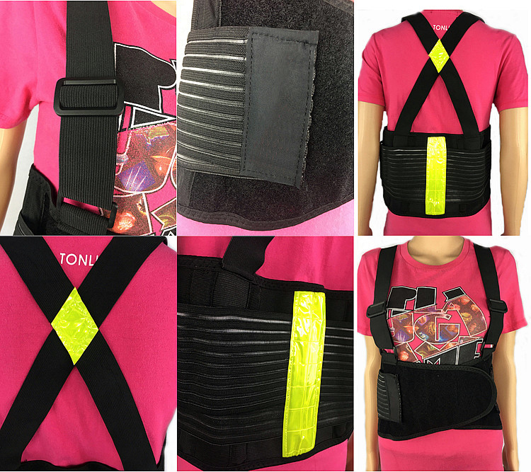 Lumbar Hip Elastic Back Support Belt as Seen on TV