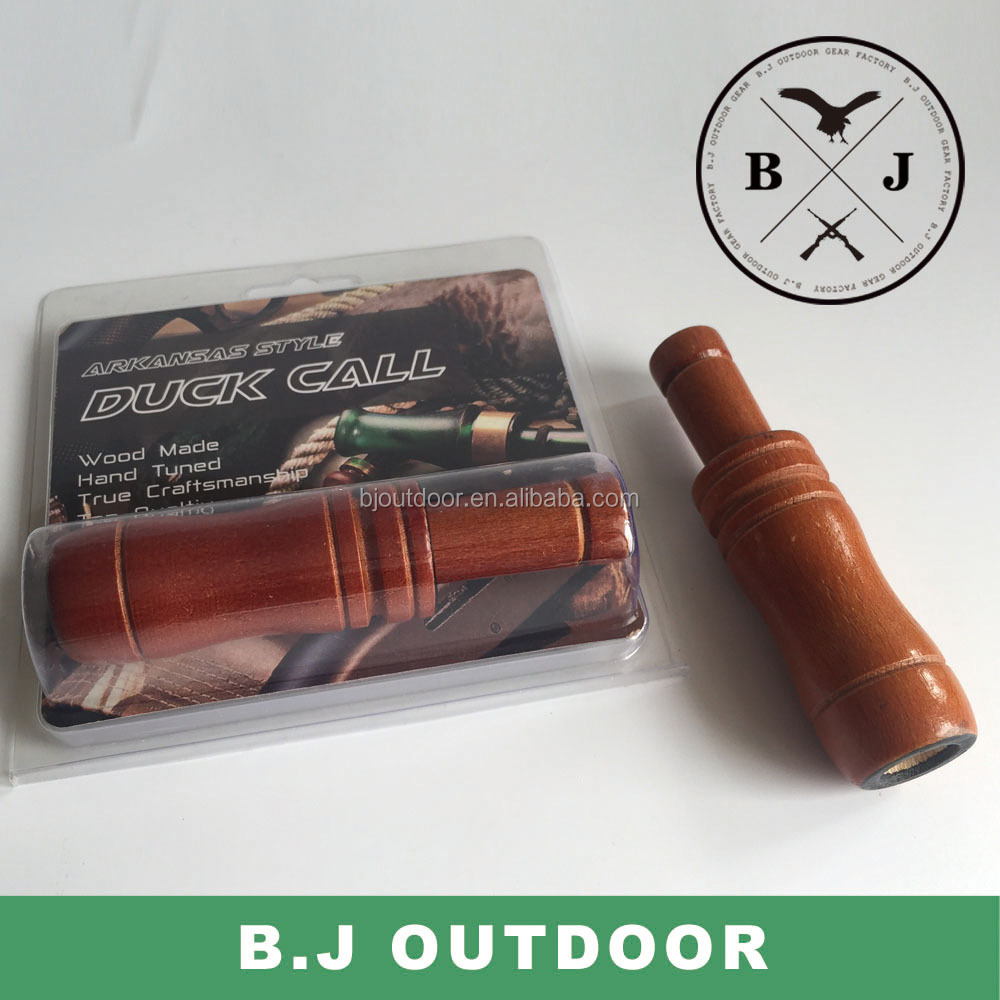 2016 easy blowing wood made duck calls for hunting duck caller from BJ Outdoor