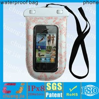 for iphone IPX8 waterproof mobile phone case