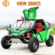Newest 2 seat 200cc Gasolina Pedal Go Kart with Good Quality CE Approved