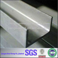 304 316l 321 310s 201 202 ( (factory direct sale) ) and pickled stainless steel C channel for Construction