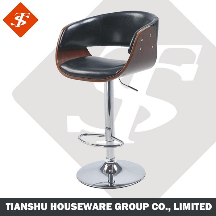 adjust height revolving soft upholstery high quality cork stool