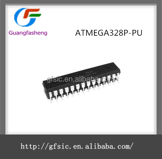 High Quality Microcontroller IC Programmable Flash IC with ATMEGA328P-PU