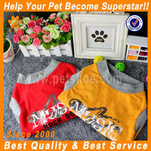 JML 2014 new design yellow/red funny dog coats