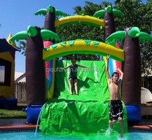 High quality jumping castles giant inflatable water slide for kids/water park slides for sale