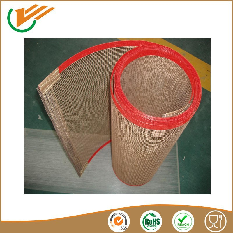 rubber conveyor belt teflon open mesh belt freezer mesh belt