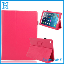 PU Leather Folio Folding Slim Stand Case Cover For ipad Air 5