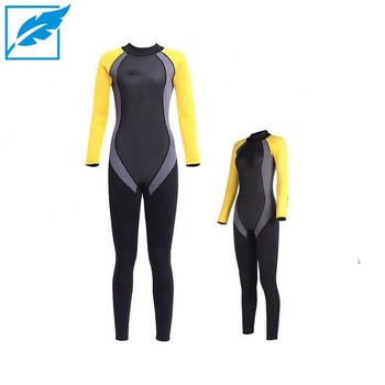 Custom Yellow Neoprene Women Sexy Wetsuits