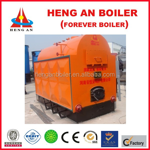 promotional China supplier small wood fired steam boiler